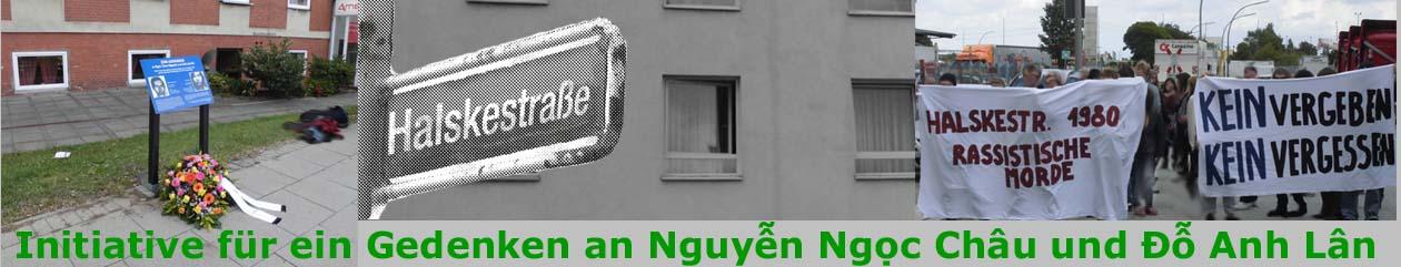 Initiative zum Gedenken  an Ngoc Chau Nguyen und An Lan Do