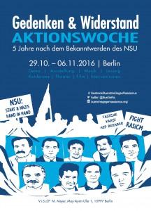 2016-11 Aktionswoche Berlin Gedenken und Widerstand Flyer